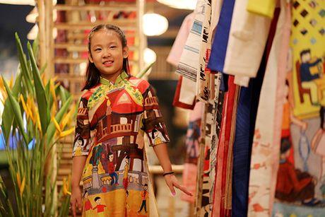 Nhung bo tac pham tuyet dep cua Hoa hau Ngoc Han trong Festival Ao dai - Anh 7