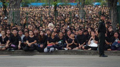 Hang van nguoi dan Thai Lan don linh cuu Quoc vuong ve cung dien - Anh 1