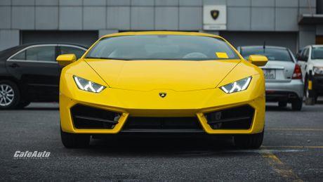 Chi tiet Lamborghini Huracan LP580-2 chinh hang thu 2 ve Viet Nam - Anh 1