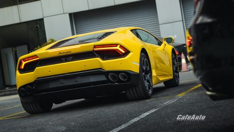 Chi tiet Lamborghini Huracan LP580-2 chinh hang thu 2 ve Viet Nam - Anh 5