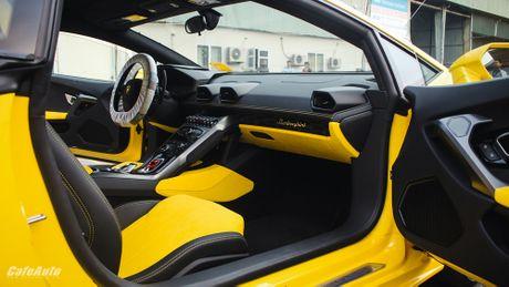 Chi tiet Lamborghini Huracan LP580-2 chinh hang thu 2 ve Viet Nam - Anh 7