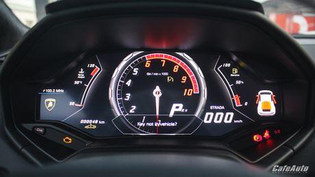 Chi tiet Lamborghini Huracan LP580-2 chinh hang thu 2 ve Viet Nam - Anh 8
