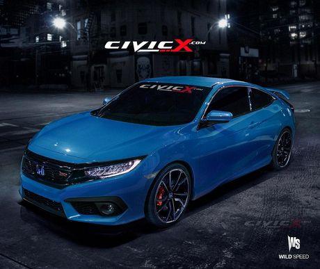 Honda Civic Si 2018 sap ra mat - Anh 1