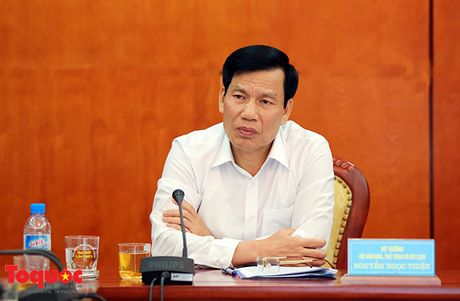 Bo truong Nguyen Ngoc Thien: Tao dot pha trong the thao bang giao duc dao duc, xay dung tinh chuyen nghiep cho cac VDV - Anh 1