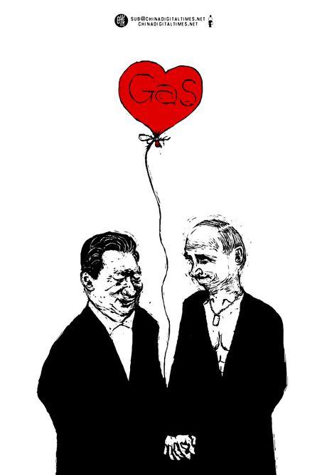 Tap Can Binh va Vladimir Putin: moi tinh huynh de nong duom - Anh 4