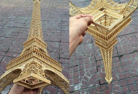9X An Giang lam thap Eiffel phat sang tu 70.000 que tam tre - Anh 1