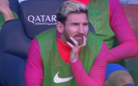 Barcelona vs Deportivo (0-0, H1): Neymar volley doi xa - Anh 1