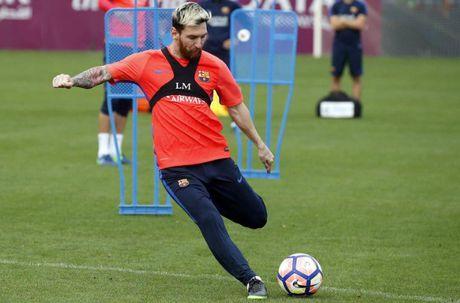 Barcelona vs Deportivo (0-0, H1): Neymar volley doi xa - Anh 4
