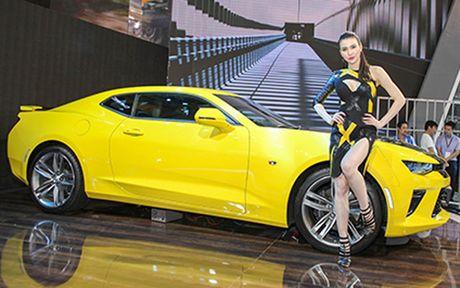 Chiem nguong Camaro SS 2016 cua hang xe My vua ra mat tai VN - Anh 5