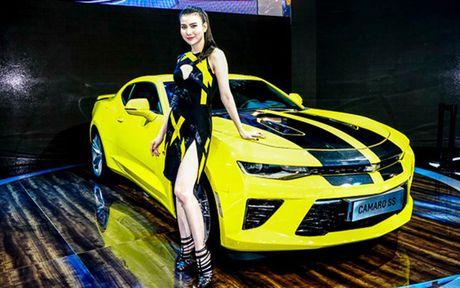 Chiem nguong Camaro SS 2016 cua hang xe My vua ra mat tai VN - Anh 7