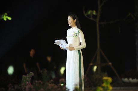 Ngoc Han duyen dang tai Festival ao dai Ha Noi - Anh 5