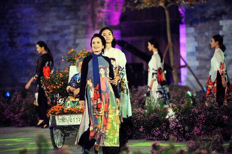Giai nhan man anh Viet hoi ngo tai Festival ao dai Ha Noi 2016 - Anh 9