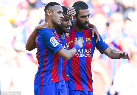 Lionel Messi gop vui de lap ky luc, Barcelona de dang de bep Deportivo - Anh 2