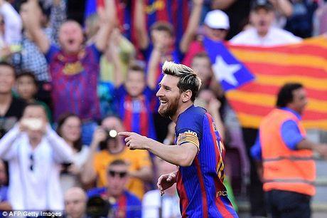 Lionel Messi gop vui de lap ky luc, Barcelona de dang de bep Deportivo - Anh 4
