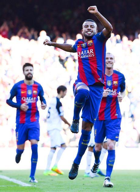 Dam doi thu roi kien tao, ghi ban, Suarez giup Barca dai thang Deportivo - Anh 5