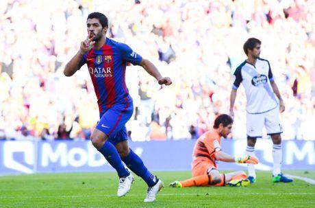 Dam doi thu roi kien tao, ghi ban, Suarez giup Barca dai thang Deportivo - Anh 6