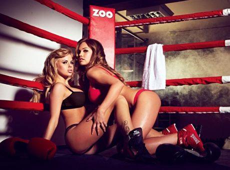 Top 10 nang Ring-girl noi tieng nhat lang boxing (Phan 7): Sara Beverley Jones - Anh 5