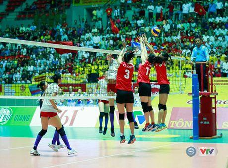 Doi tuyen bong chuyen nu Viet Nam nhan ngoi a quan VTV Cup 2016 - Anh 1