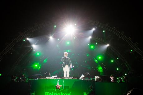 Khan gia Ha Noi song trong am nhac tai Heineken Green Room - Anh 2