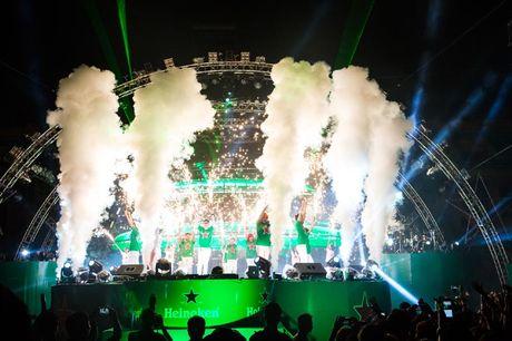 Khan gia Ha Noi song trong am nhac tai Heineken Green Room - Anh 7