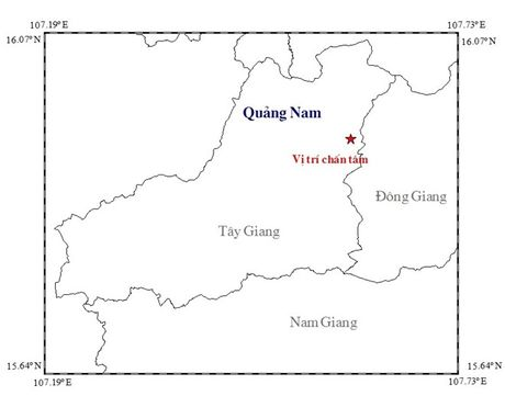 Quang Nam: Dong dat manh 3,7 do richter - Anh 1