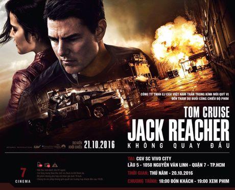 Tang ve cong chieu phim Jack Reacher 2 + qua Khac Ten: 18h ngay 20/10 o VivoCity - Anh 2