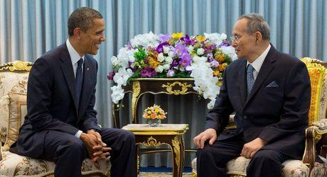 Vua Thai Lan qua doi, chinh sach 'xoay truc' Obama mat diem tua - Anh 1