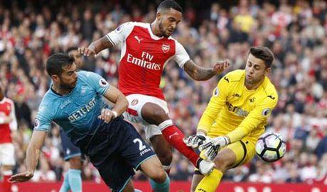 Tin HOT bong da trua 16/10: Arsenal vuot moc 1000 diem san nha - Anh 1