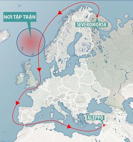 Tau san bay Nga len duong sang Syria - Anh 4