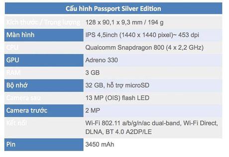 Blackberry Passport chinh hang dua ha gia voi hang xach tay - Anh 3