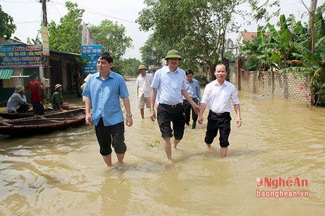 Dong chi Bi thu Tinh uy kiem tra cong tac khac phuc lut bao - Anh 3