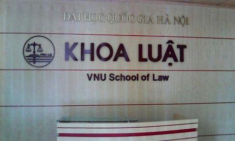 Nang cap khoa Luat thanh Truong DH Luat thuoc DH Quoc gia Ha Noi - Anh 1