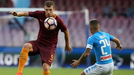 Highlights Napoli 1-3 AS Roma - Anh 1