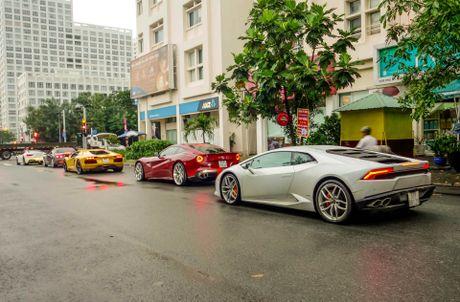 Cuong Do La dan dau doan sieu xe tai khoi dong Car Passion - Anh 1