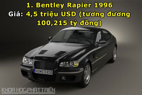 Top 10 sieu xe Bentley dat nhat trong lich su - Anh 1