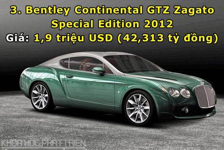 Top 10 sieu xe Bentley dat nhat trong lich su - Anh 3