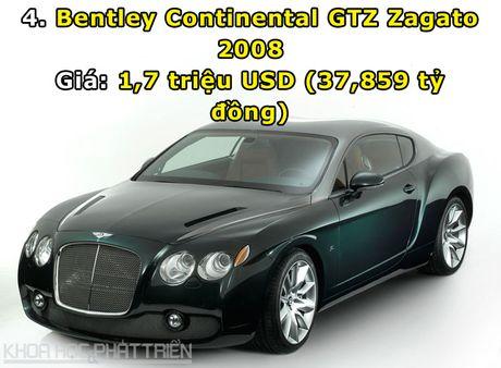 Top 10 sieu xe Bentley dat nhat trong lich su - Anh 4