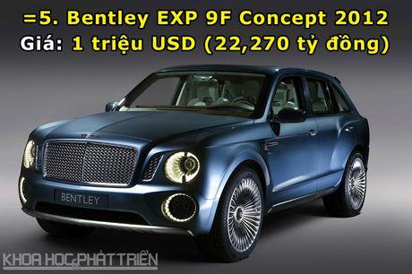 Top 10 sieu xe Bentley dat nhat trong lich su - Anh 5