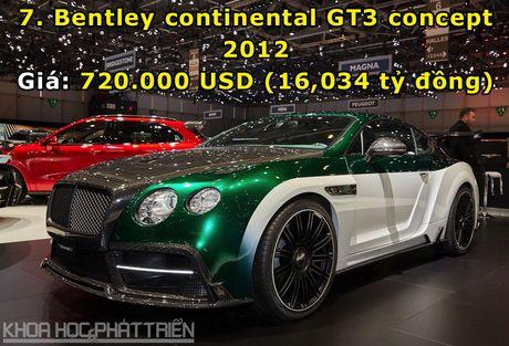Top 10 sieu xe Bentley dat nhat trong lich su - Anh 7