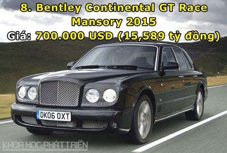 Top 10 sieu xe Bentley dat nhat trong lich su - Anh 8