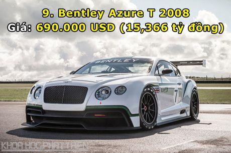 Top 10 sieu xe Bentley dat nhat trong lich su - Anh 9