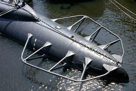 Tham quan phan tren tau ngam Lionfish SS-298 cua hai quan My - Anh 5