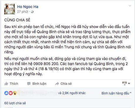MC Phan Anh, Ha Ho, Tuan Hung keu goi ung ho dong bao mien Trung - Anh 2