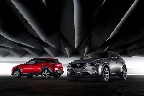 Mazda 2 va CX-3 phien ban 2017 chinh thuc ra mat - Anh 1
