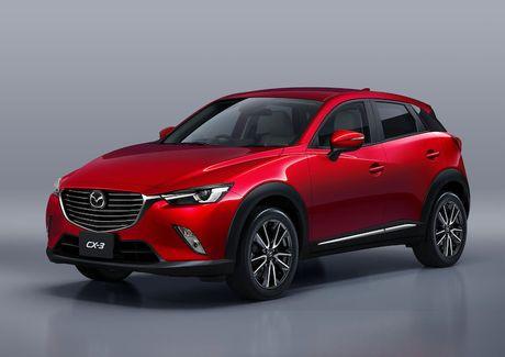 Mazda 2 va CX-3 phien ban 2017 chinh thuc ra mat - Anh 3