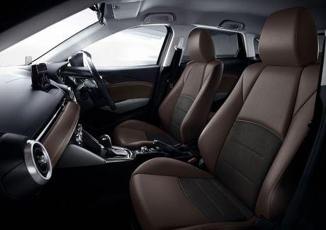 Mazda 2 va CX-3 phien ban 2017 chinh thuc ra mat - Anh 6