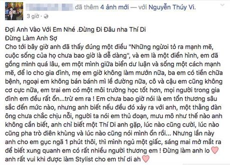 Bo Thuy Vi len tieng ve tin don con gai tu tu - Anh 2