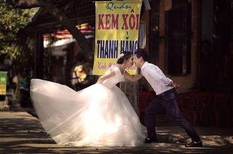 Anh cuoi phong cach hang quan cua cap doi Ninh Binh - Anh 6