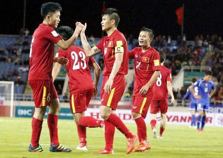 Doi tuyen quoc gia chot lich giao huu truoc them AFF Suzuki cup 2016 - Anh 1