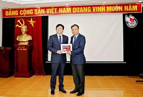 Hoi Nha bao Viet Nam va Hoi Nha bao Lao tang cuong quan he hop tac - Anh 5